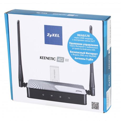 Wi-Fi роутер Zyxel Keenetic 4G III (Rev.B)