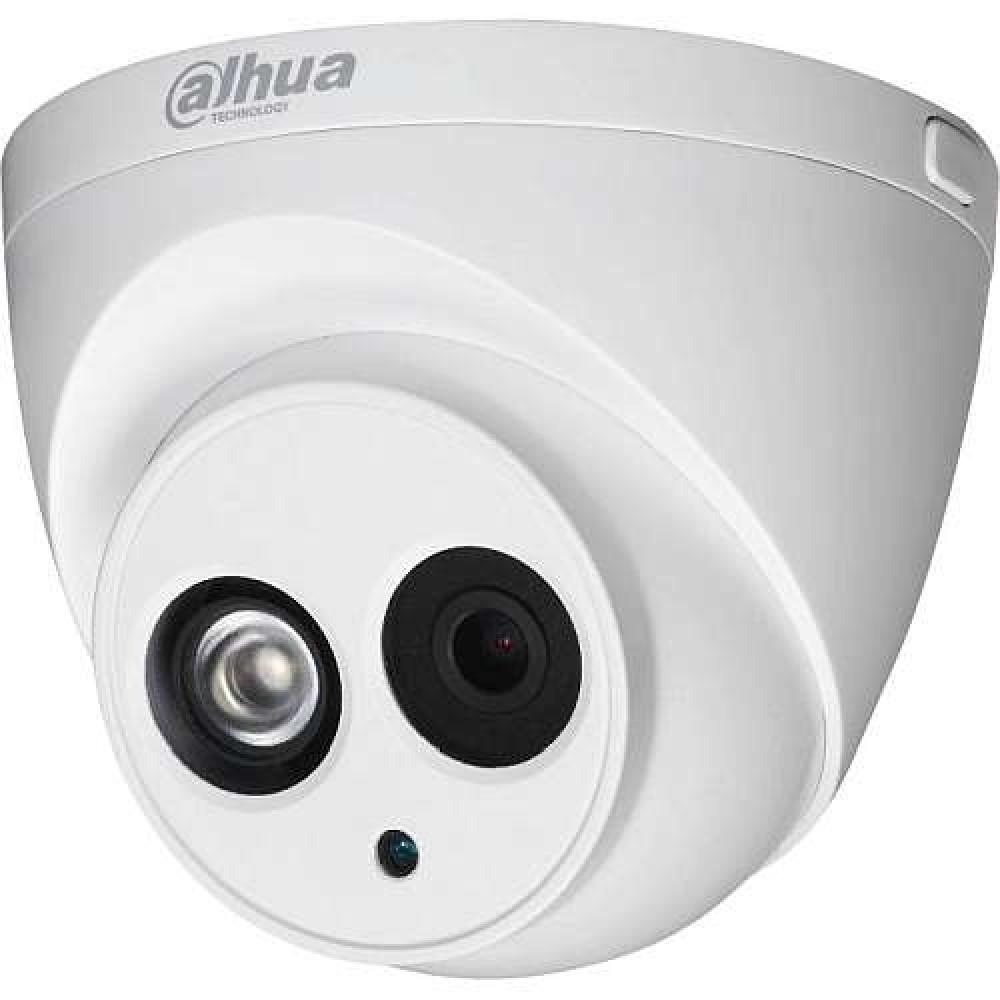 Dahua IPC-HDW4433C-A 4Мп IP камера starlight с встроенный микрофоном PoE H.265 IP67