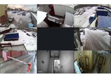 Видеонаблюдения на автостоянке в поселок Завода Мосрентгене