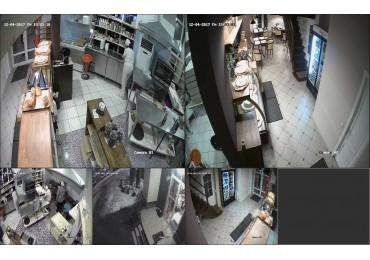 Установка видеонаблюдения в пекарне в Коммунарках