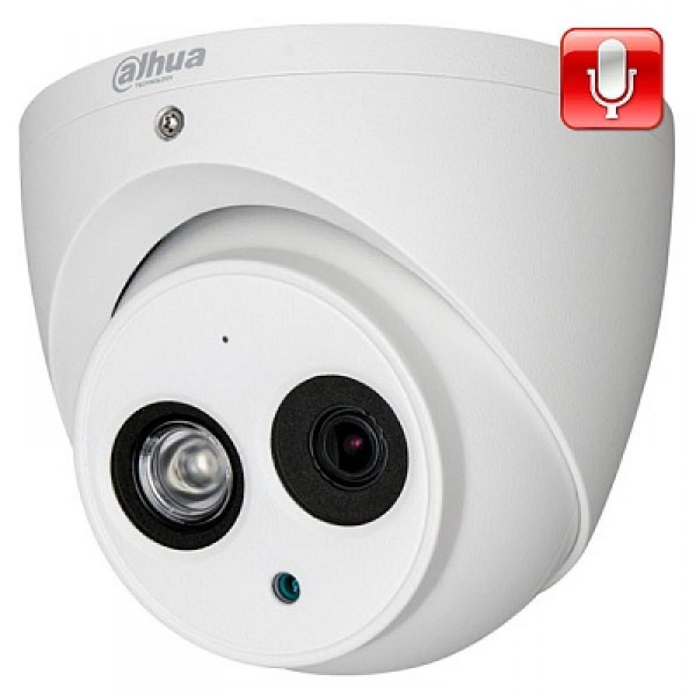 Гибридная видеокамера DH-HAC-HDW1100EMP-A-0280B-S3 (Dahua)