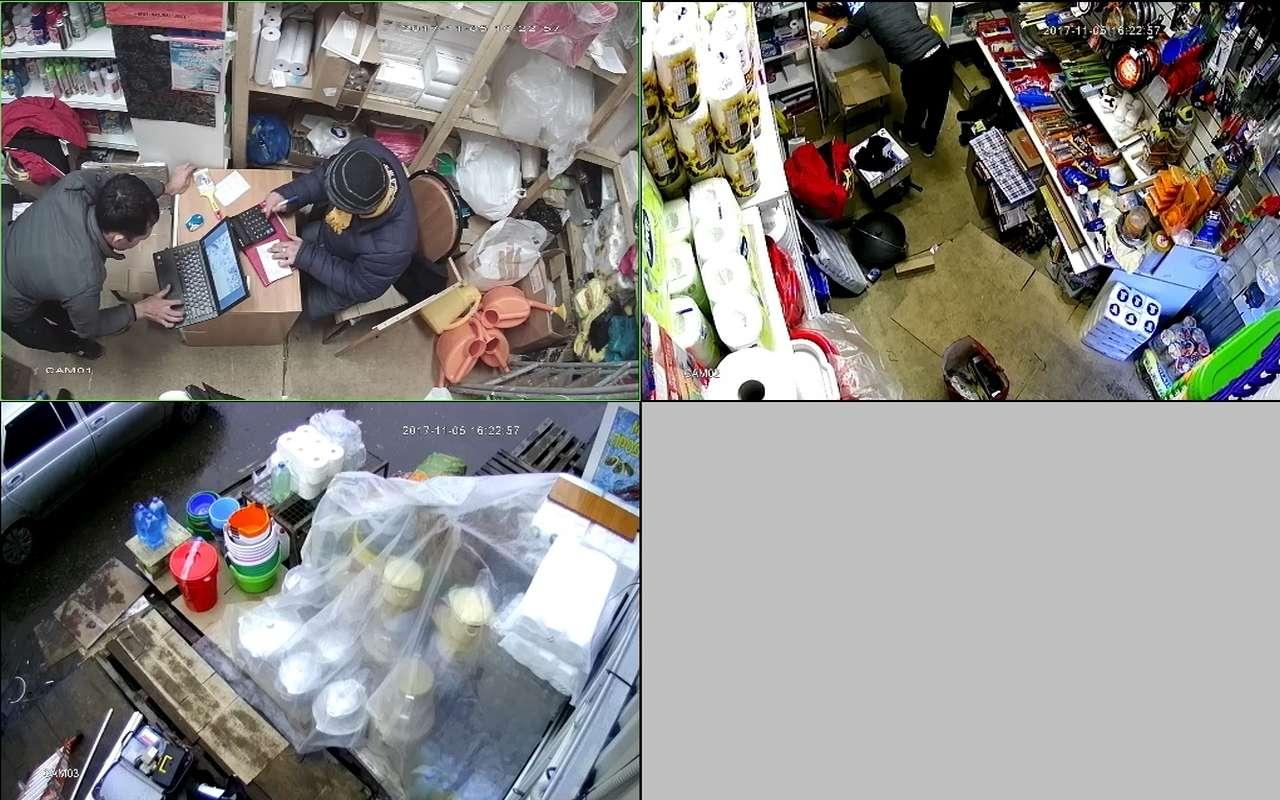 Установка видеонаблюдения в магазин хозтоваров м.Теплый Стан