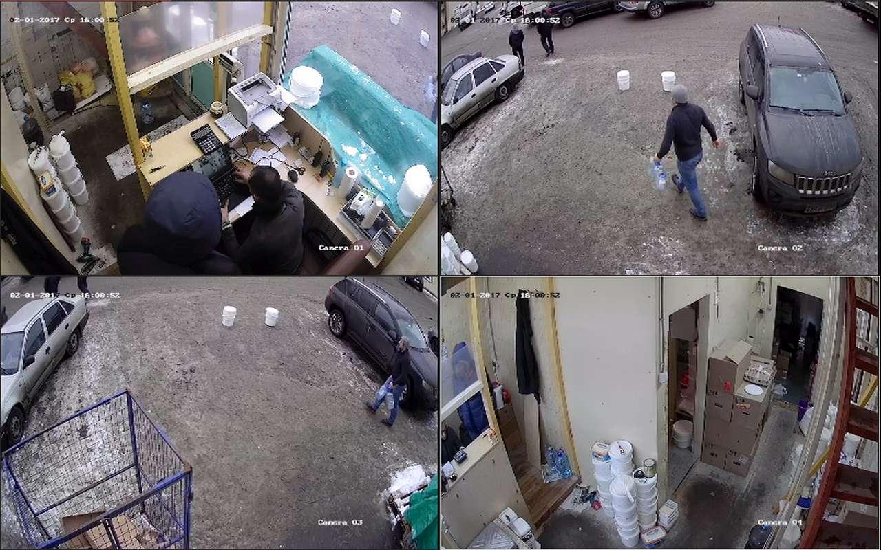 Установка видеонаблюдения в магазине м.Теплый Стан